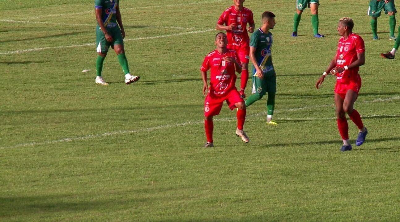 Os gols de Altos 0 x 4 4 de Julho pela terceira rodada do Campeonato Piauiense