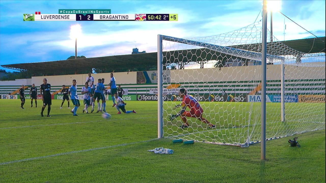 Melhores momentos de Luverdense 1 x 2 Bragantino pela Copa do Brasil 2021