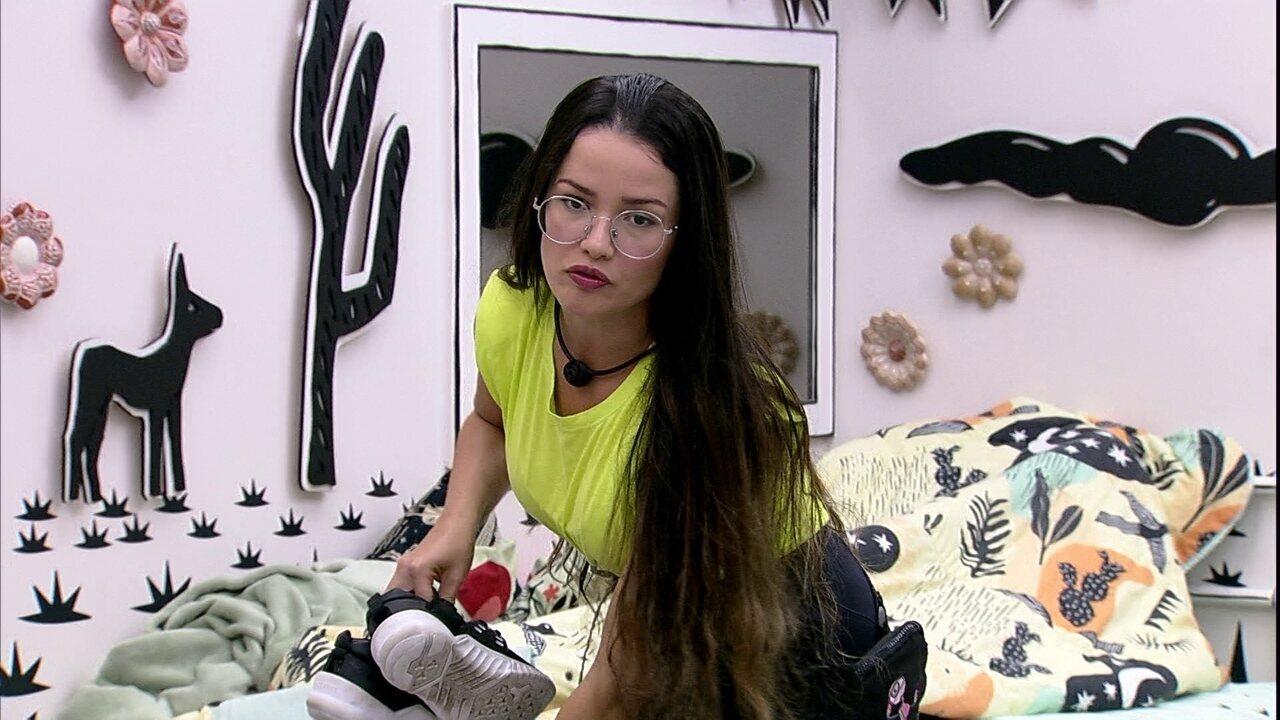 Juliette declara para Rodolffo no BBB21: 'Você é um teimoso moderado'