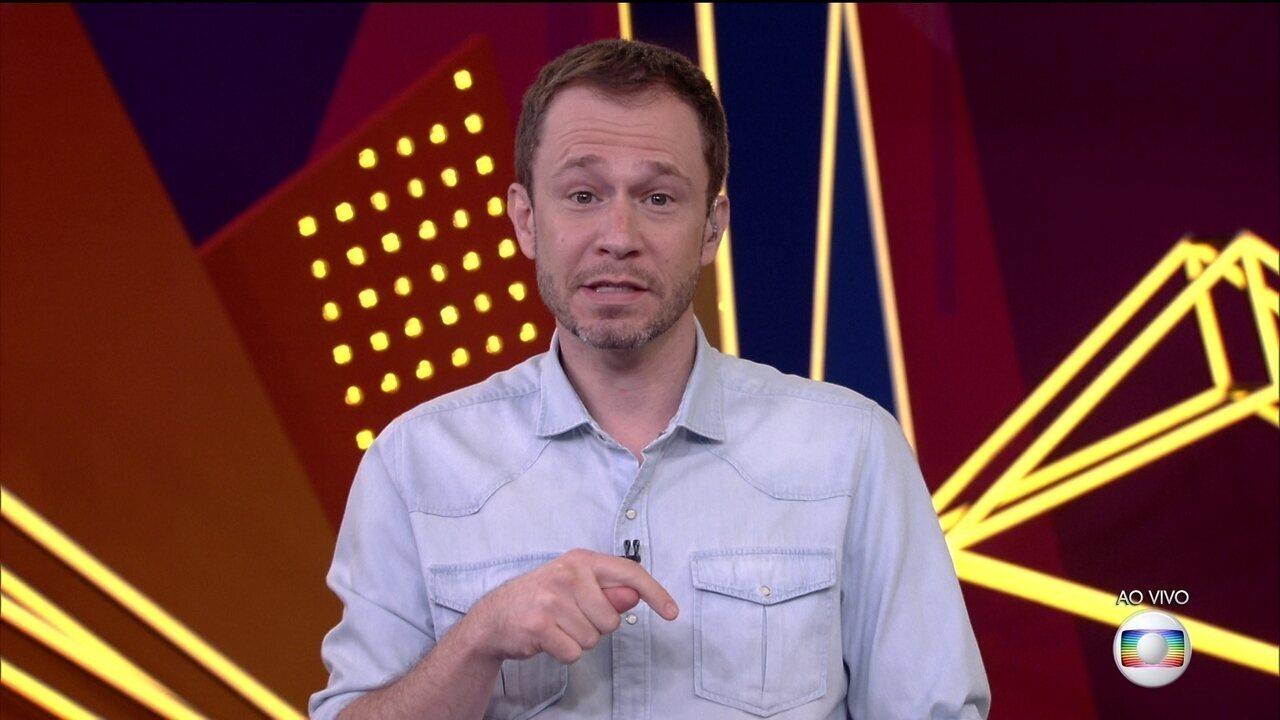Tiago Leifert explica sobre rodada de fogo