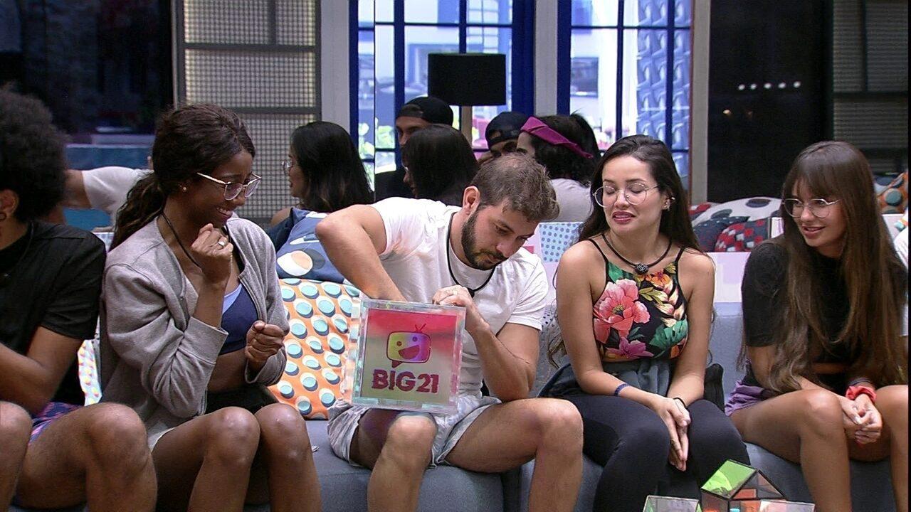 Brothers fazem sorteio para Prova do Anjo Fanta Guaraná; veja quem participa