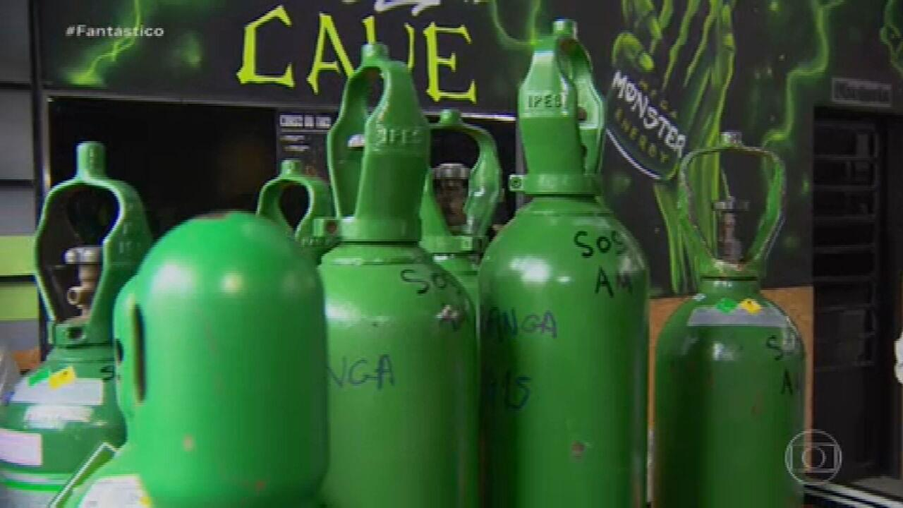Voluntário de ONG que distribuía oxigênio no Amazonas é preso acusado de desviar cilindros no auge da crise no estado