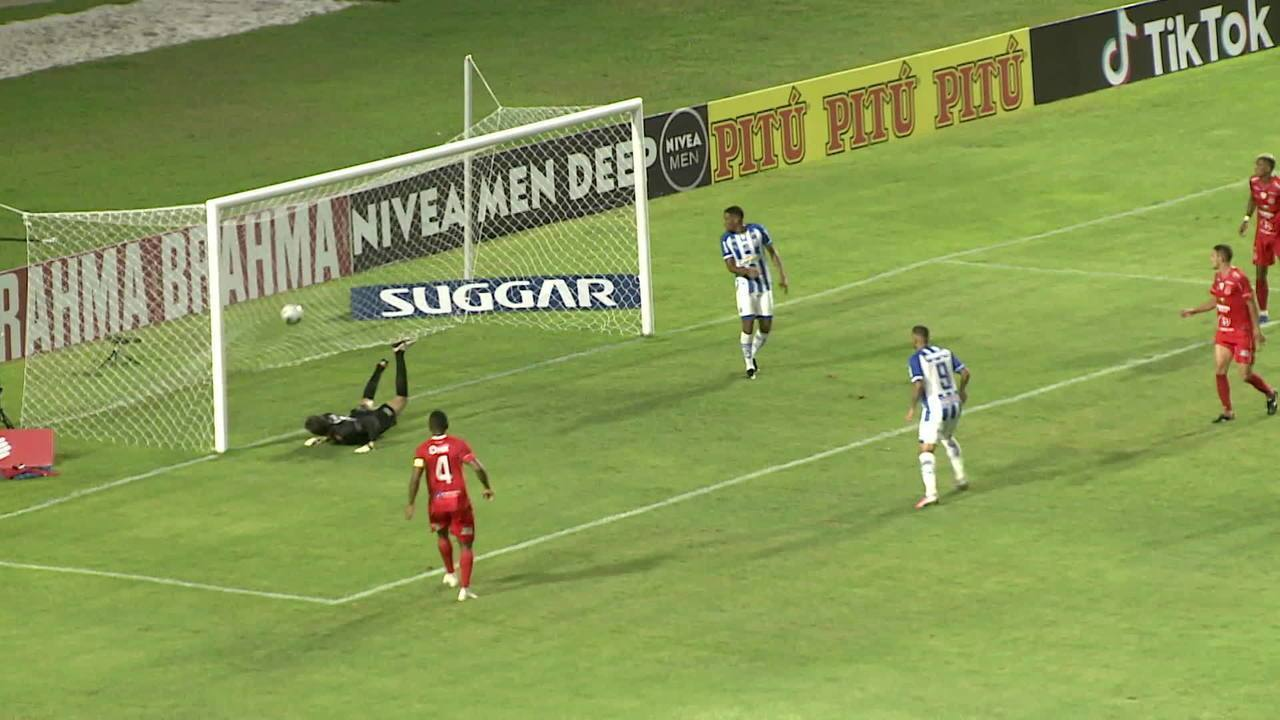 Os gols de CSA 2 x 2 4 de Julho pela 7ª rodada da Copa do Nordeste