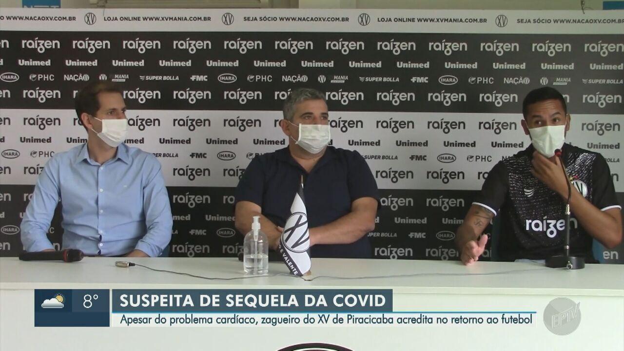 Após Covid-19, Douglas Marques é afastado no XV de Piracicaba por problema cardíaco