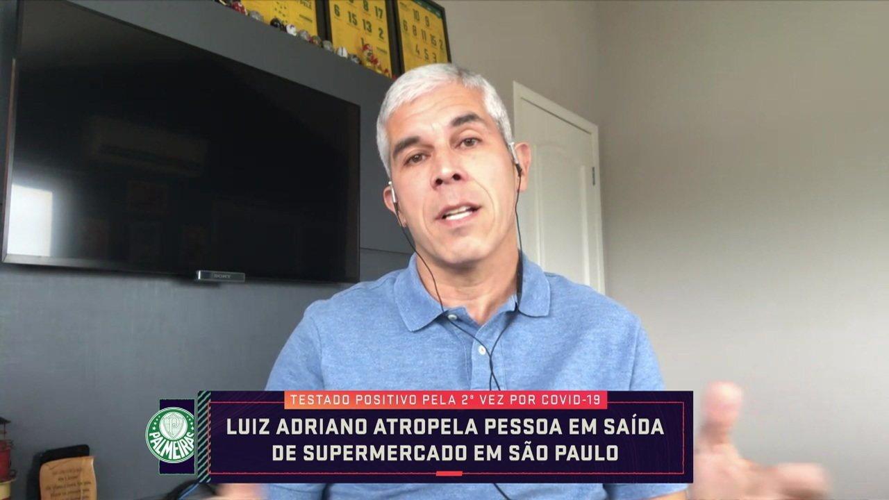 """Ricardinho critica Luiz Adriano por descumprir isolamento: """"Grande mau exemplo"""""""