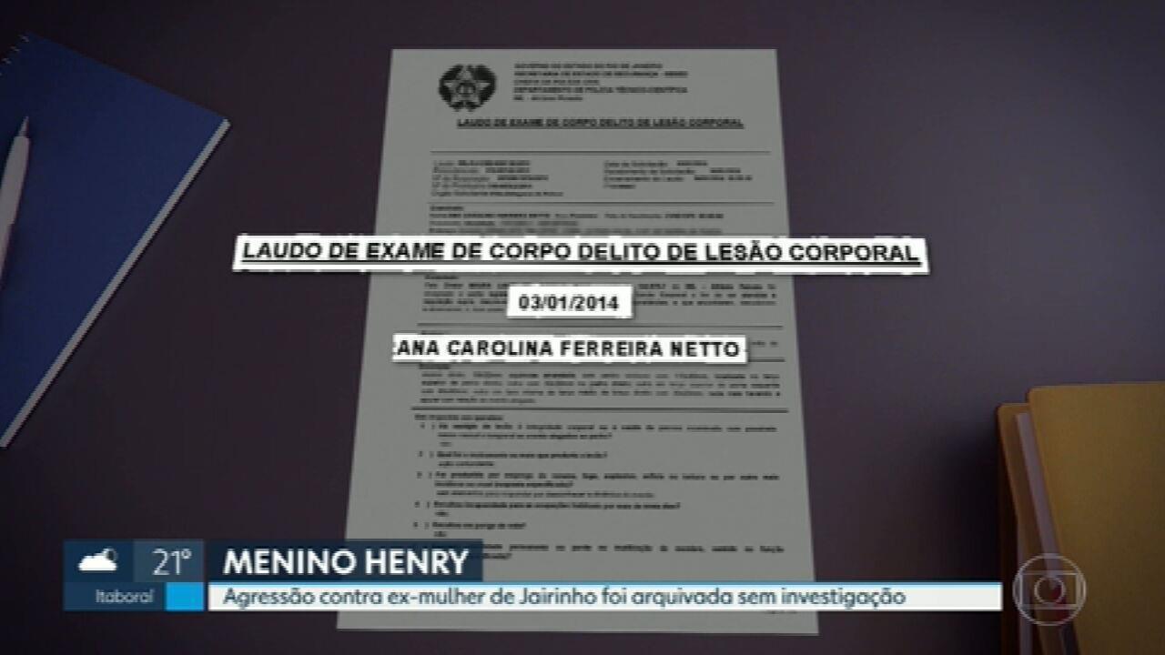 Agressão contra ex de Jairinho foi arquivada sem investigação