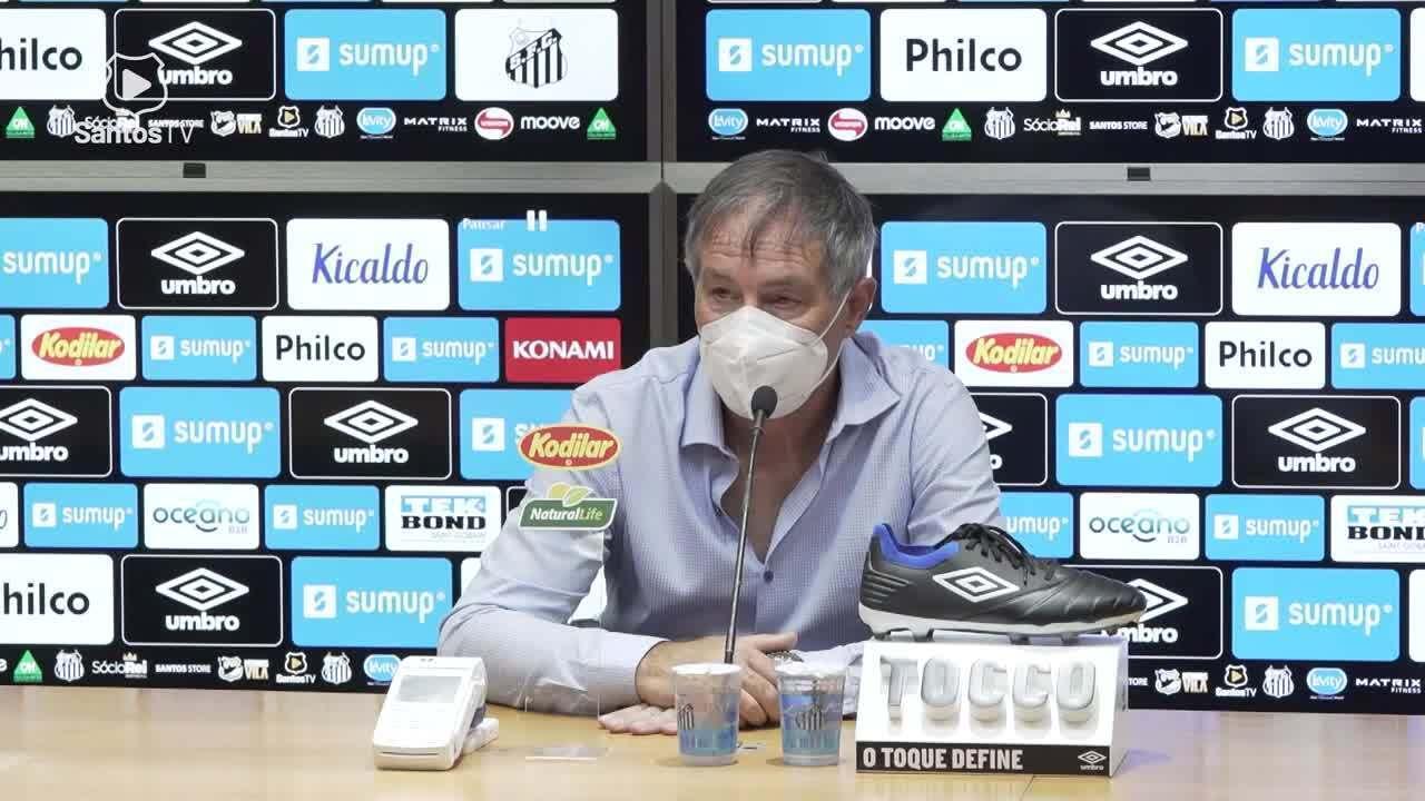 Confira a coletiva do técnico Ariel Holan após o jogo contra o Botafogo-SP