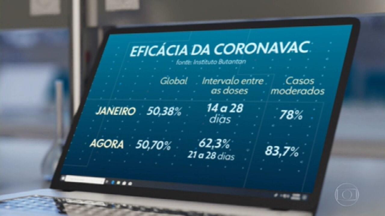 Cientistas mostram que grande parte dos voluntários que receberam a CoronaVac mostrou anticorpos para a variante brasileira do coronavírus