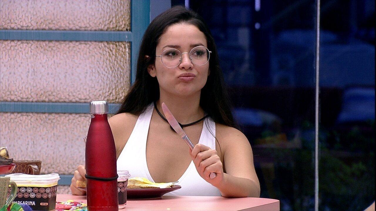 Juliette especula Eliminação desta noite no BBB21: 'Tomara que seja Arthur'