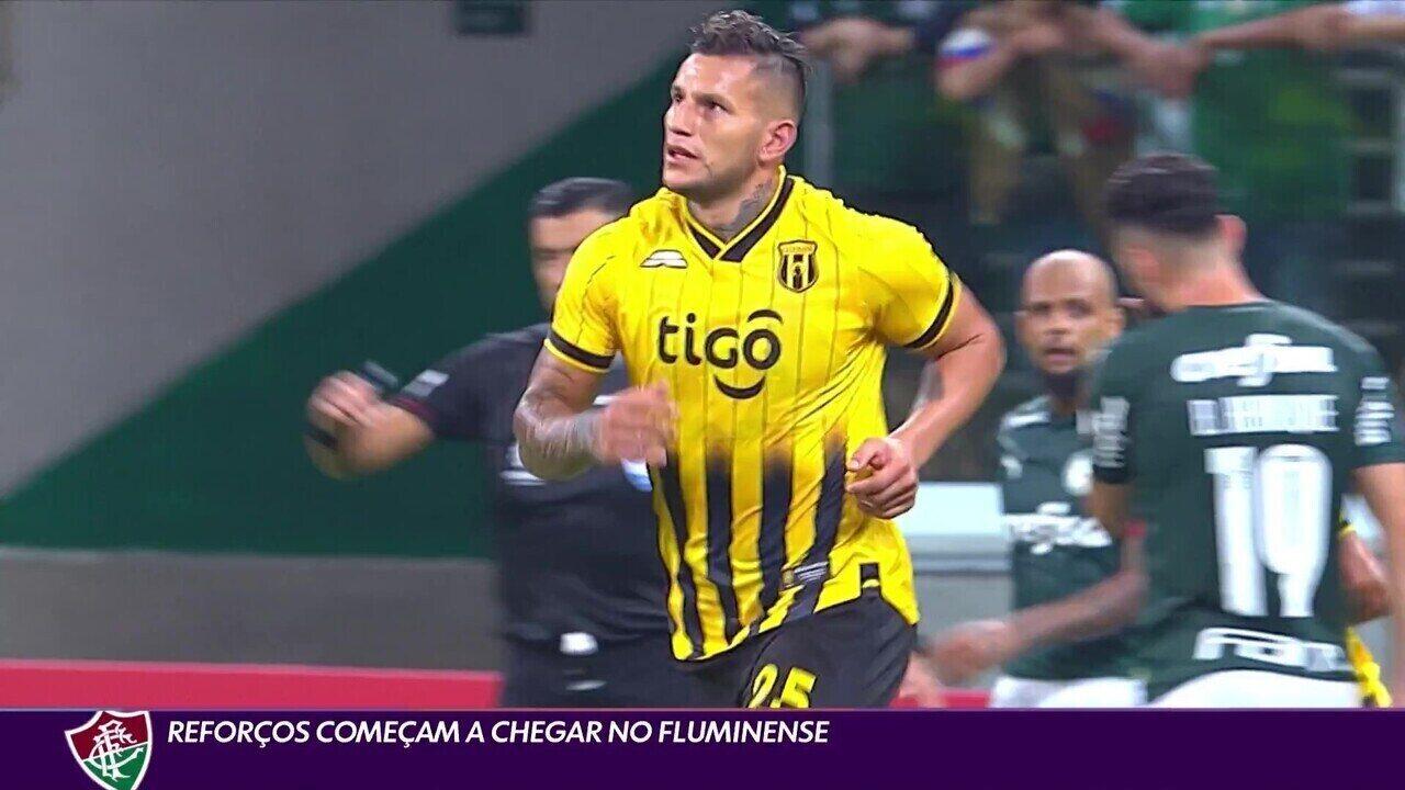 Reforços começam a chegar ao Fluminense
