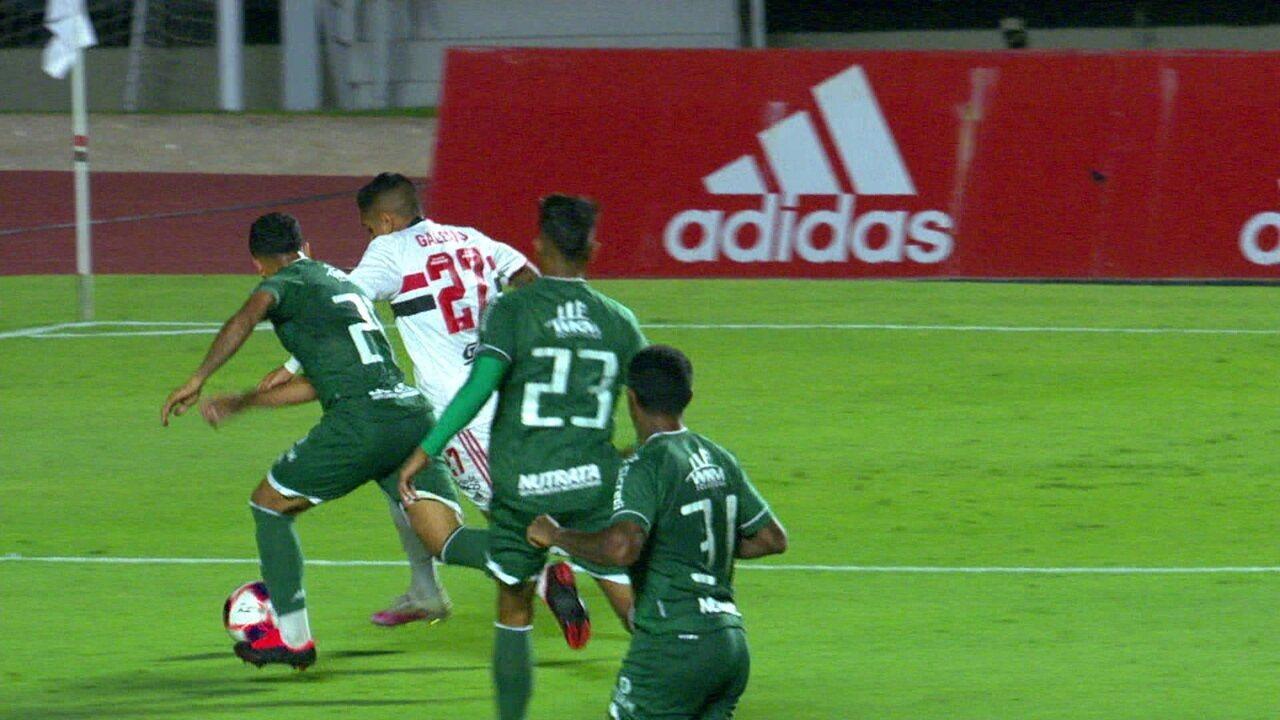 Melhores momentos: São Paulo 3 x 2 Guarani pela 9ª rodada do Campeonato Paulista