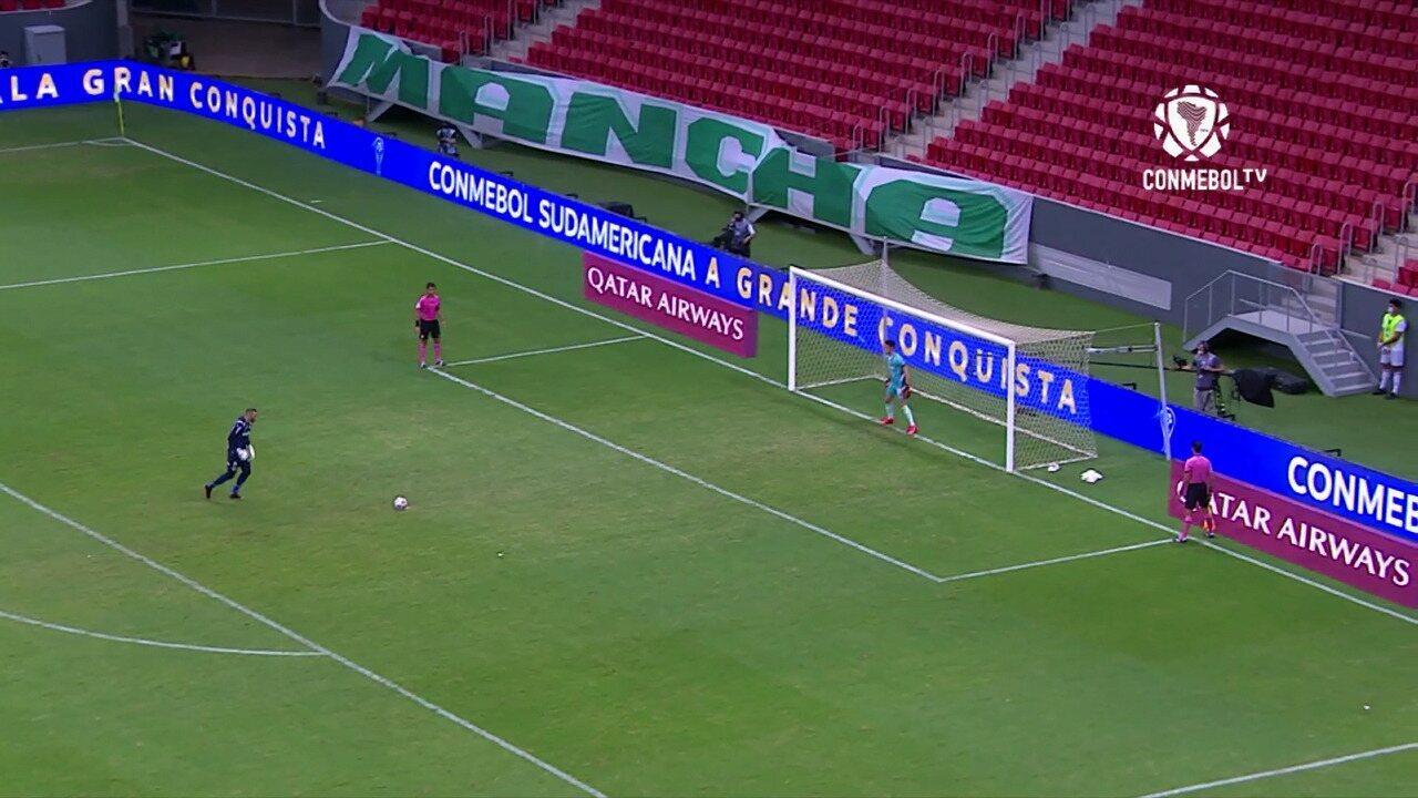 Melhores momentos: Palmeiras 1 (3) x (4) 2 Defensa y Justicia pela final da Recopa