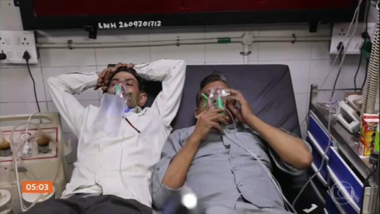 Índia bate novo recorde de infectados por Covid em 24 horas