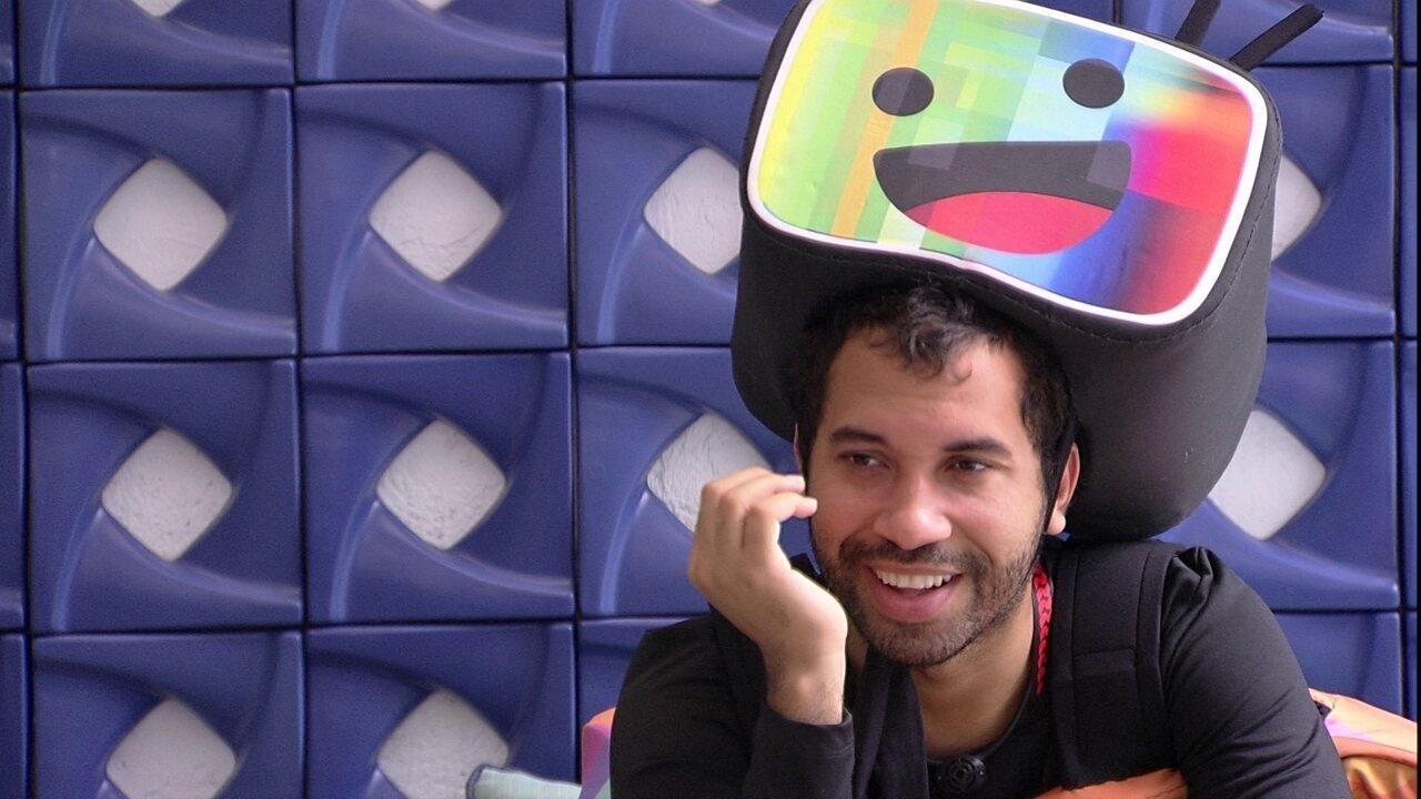 Gilberto quer escolher vilão no Jogo da Discórdia: Adoro, mas não tenho talento'