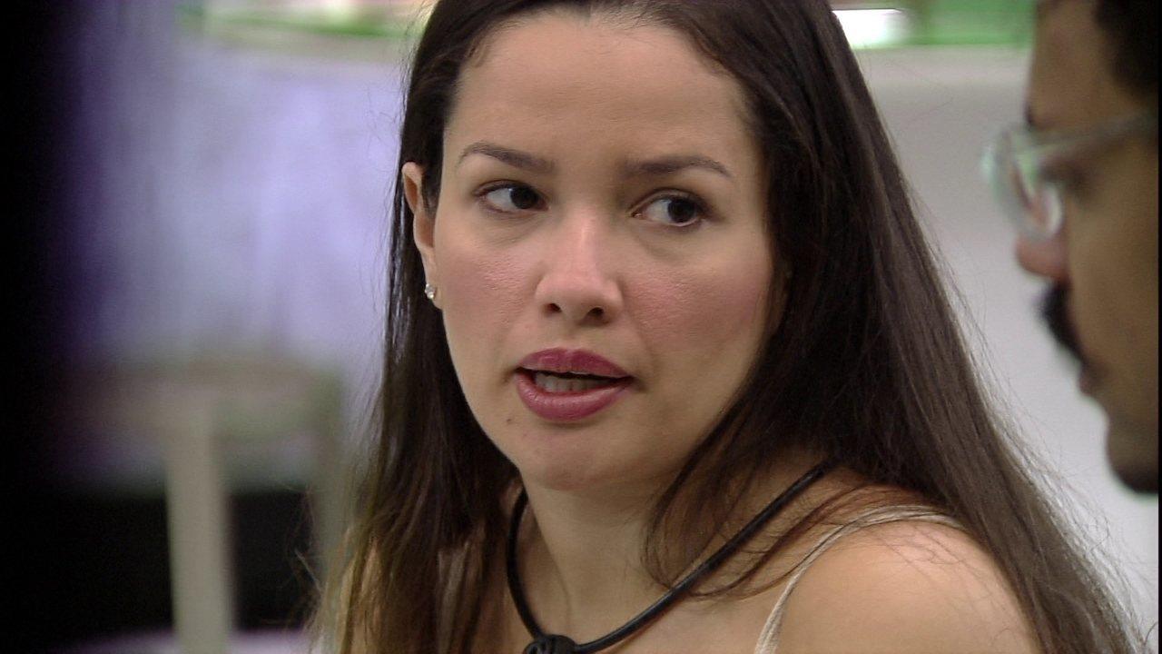 Em papo sobre Paredão, Juliette diz em quem vai votar e afirma: 'Minha opção não era essa'