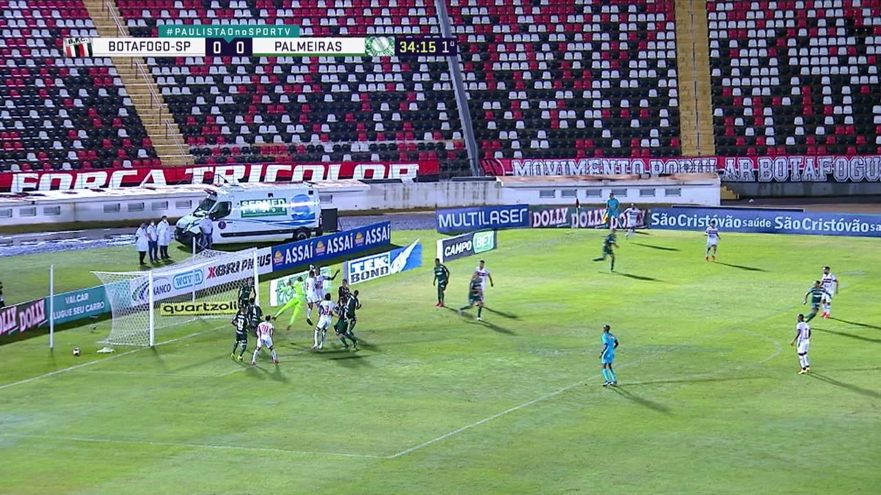 Melhores momentos: Botafogo-SP 0 x 0 Palmeiras pela 6ª rodada do Campeonato Paulista