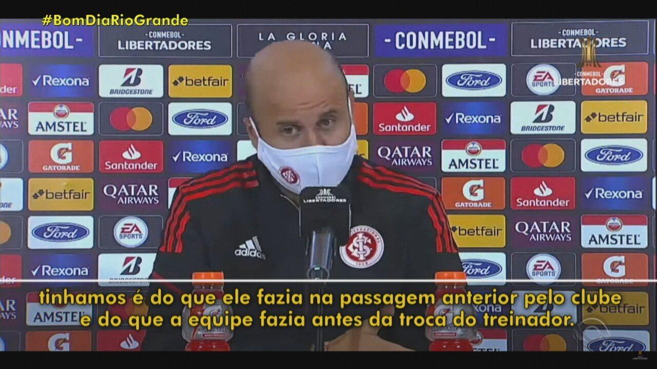 Ramírez revela surpresa com postura do Always Ready e admite má atuação do Inter