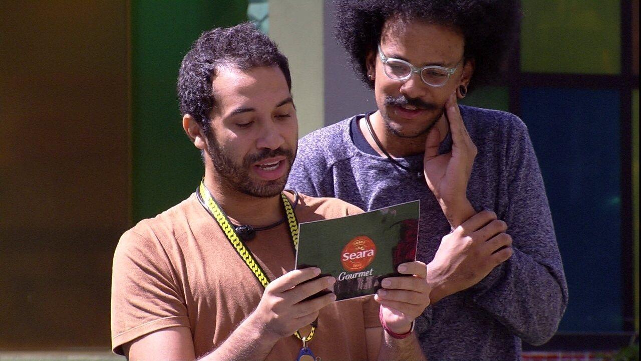 Brothers comemoram ação especial no BBB21