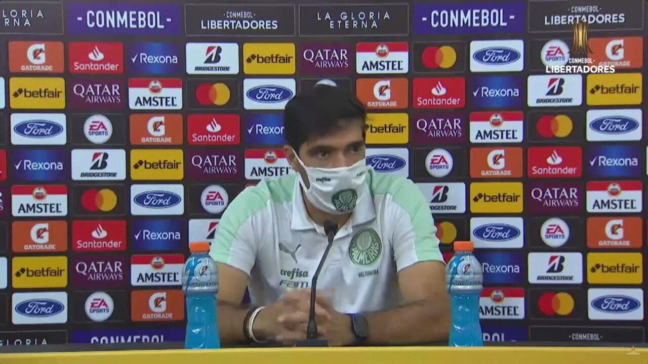 Veja a coletiva Abel Ferreira, do Palmeiras, após a vitória sobre o Universitario, na Libertadores