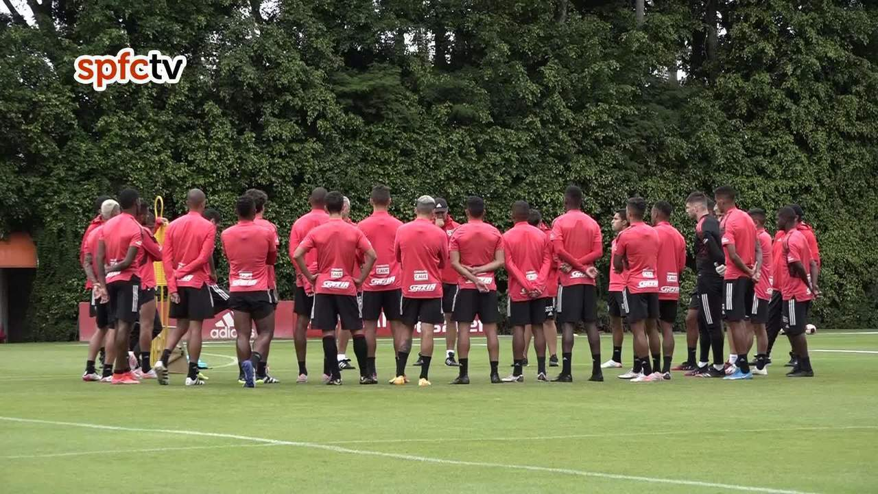 São Paulo treina no CCT da Barra Funda nesta quinta-feira