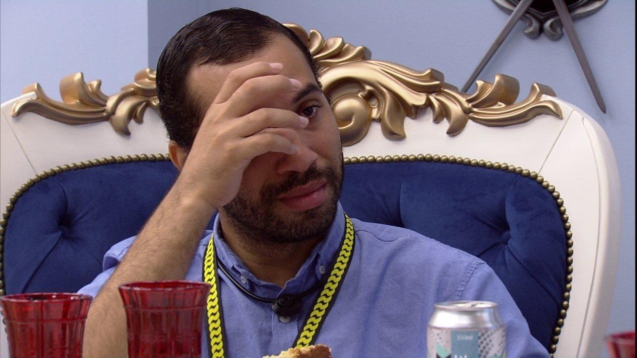 Gilberto se emociona durante papo sobre família com Juliette no Almoço do Líder