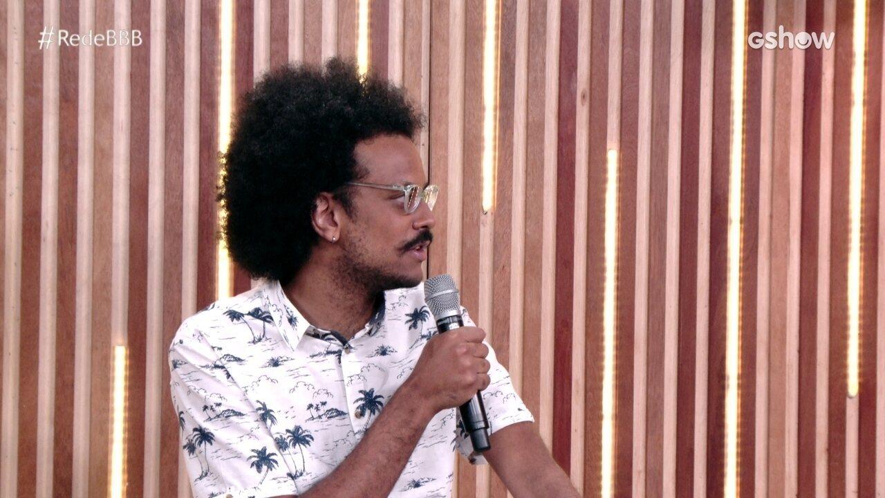 Na Mesa BBB, João Luiz comenta Camilla de Lucas não ter sido emparedada no BBB21