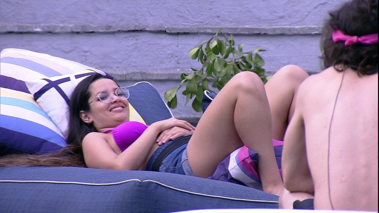 Juliette propõe a Fiuk: 'Vamos casar e virar um casal de Big Brothers?'