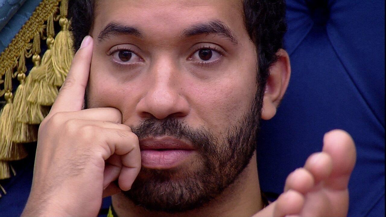 Gilberto analisa sua atuação no BBB21: 'Minha Liderança salvou meu pódio'