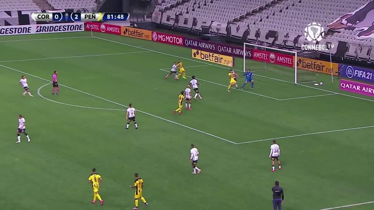 Melhores momentos de Corinthians 0 x 2 Peñarol pela Copa Sul-Americana