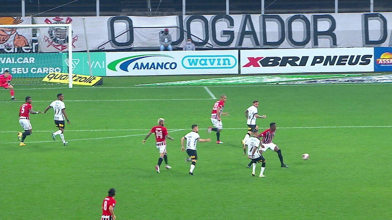 Melhores momentos de Corinthians 2 x 2 São Paulo pela 10ª rodada do Campeonato Paulista 2021
