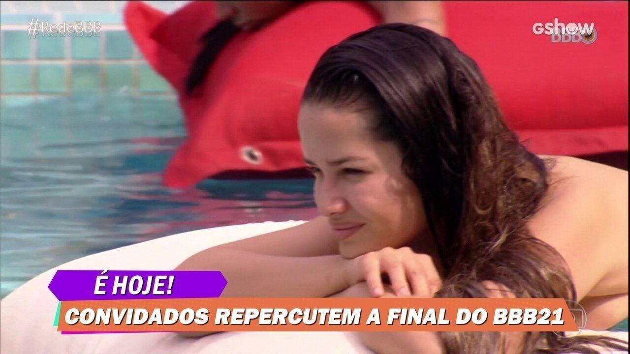 Regiane Alves opina sobre a finalista Juliette no BBB21