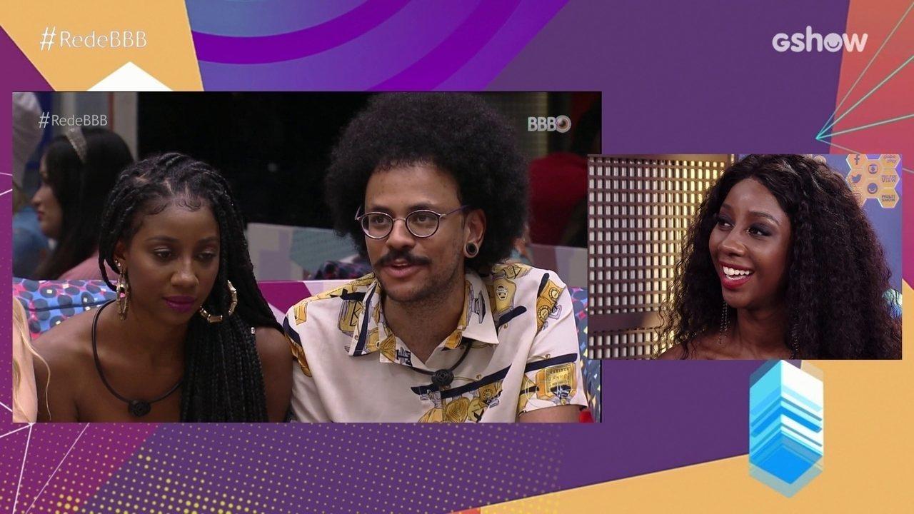 No Bate-Papo BBB, Camilla de Lucas fala sobre a amizade com João Luiz: 'O melhor presente'