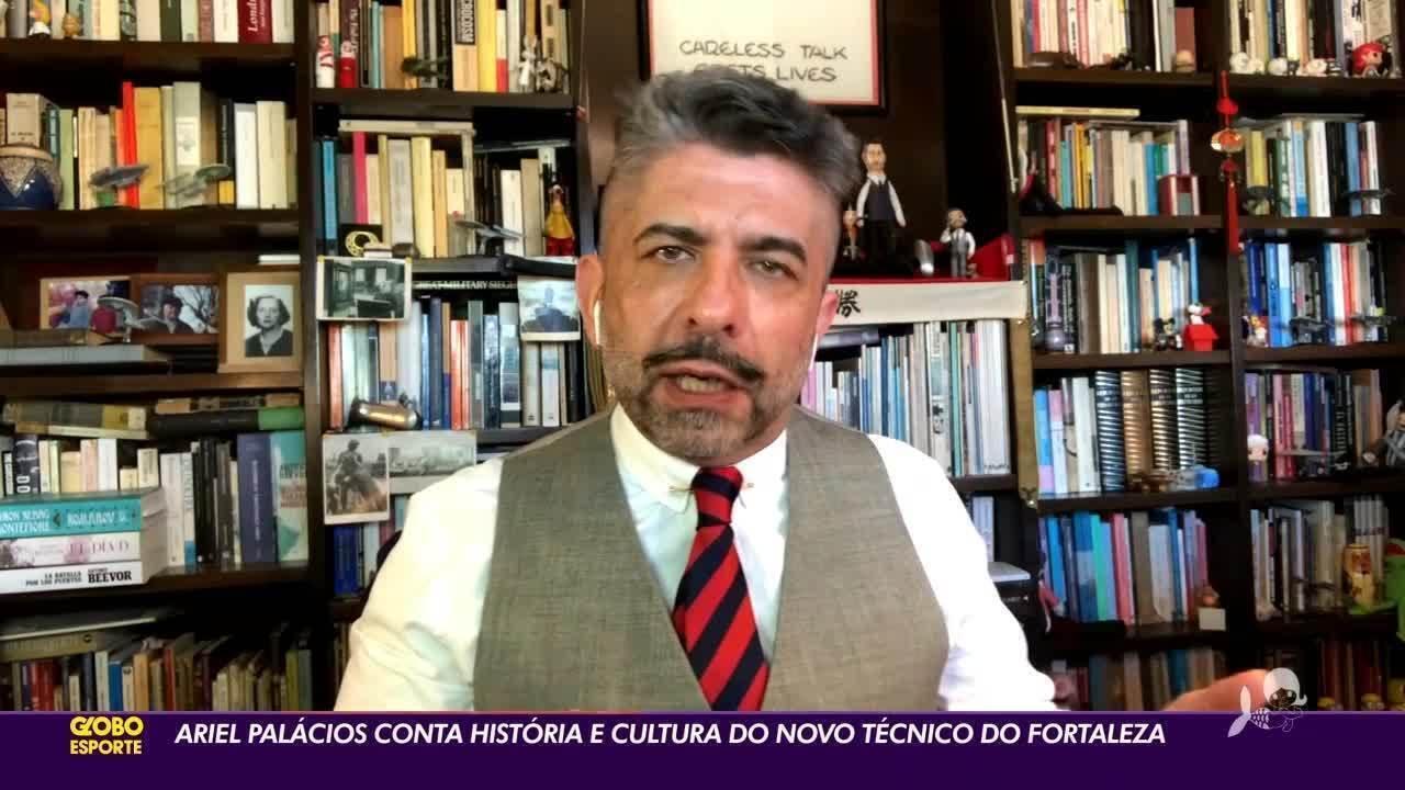 Ariel Palácios conta história e cultura de Juan Pablo Vojvoda
