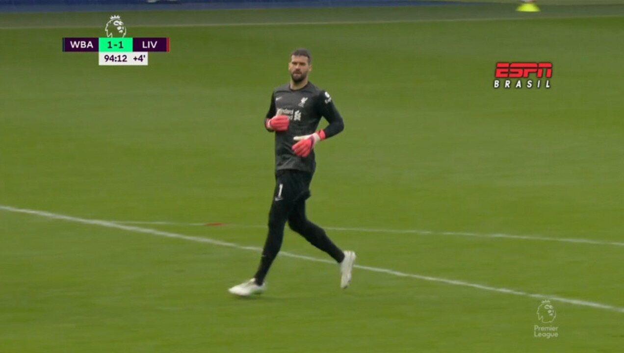 Os gols de West Bromwich 1 x 2 Liverpool pelo Campeonato Inglês