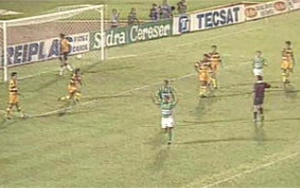 Em 1996, Os Gols de Novorizontino 1 X 7 Palmeiras pelo Paulistão