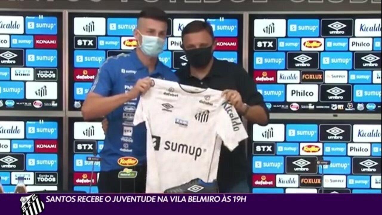 Globo Esporte SP | Santos recebe o Juventude na Vila ...