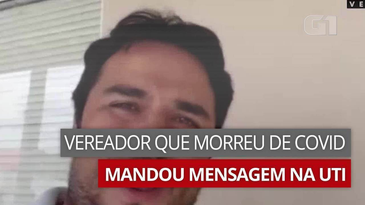 Vereador de Itupeva (SP) que morreu de Covid falou sobre doença em áudio enviado na UTI   Sorocaba e Jundiaí   G1