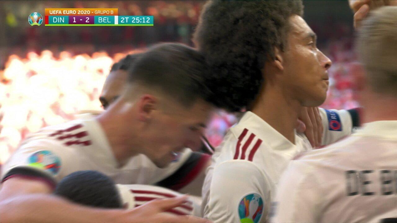 Melhores momentos: Dinamarca 1 x 2 Bélgica pela 2ª rodada da Eurocopa