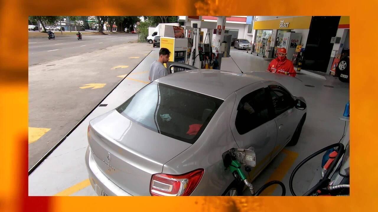O consumo aumenta quando o combustível está na reserva?