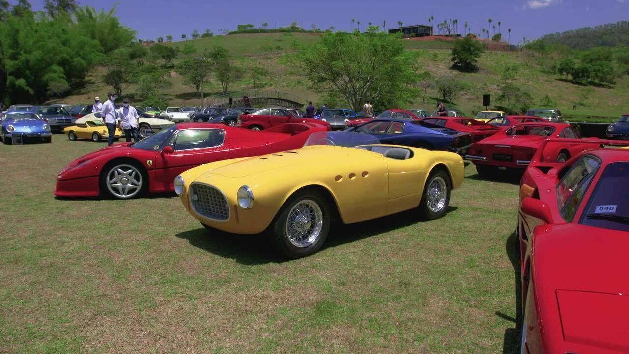Evento de carros antigos reúne modelos raríssimos no Brasil