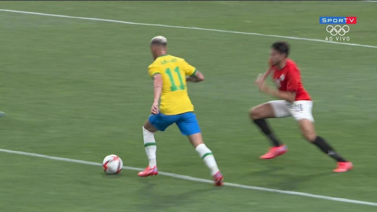 Melhores momentos: Brasil 1 x 0 Egito pelas quartas de final do futebol masculino - Olimpíadas de Tóquio