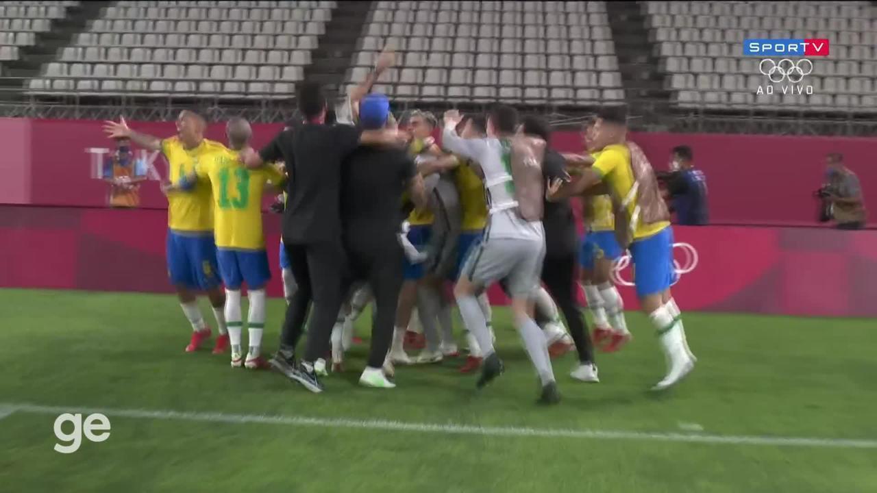 México x Brasil - Melhores Momentos da Disputa de Pênaltis