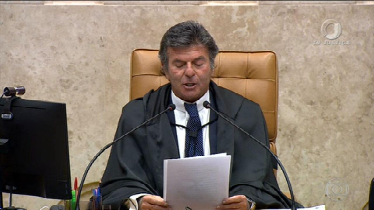 Fux reage a ataques de Bolsonaro ao STF e cancela reunião entre chefes dos  Poderes | Jornal Nacional | G1