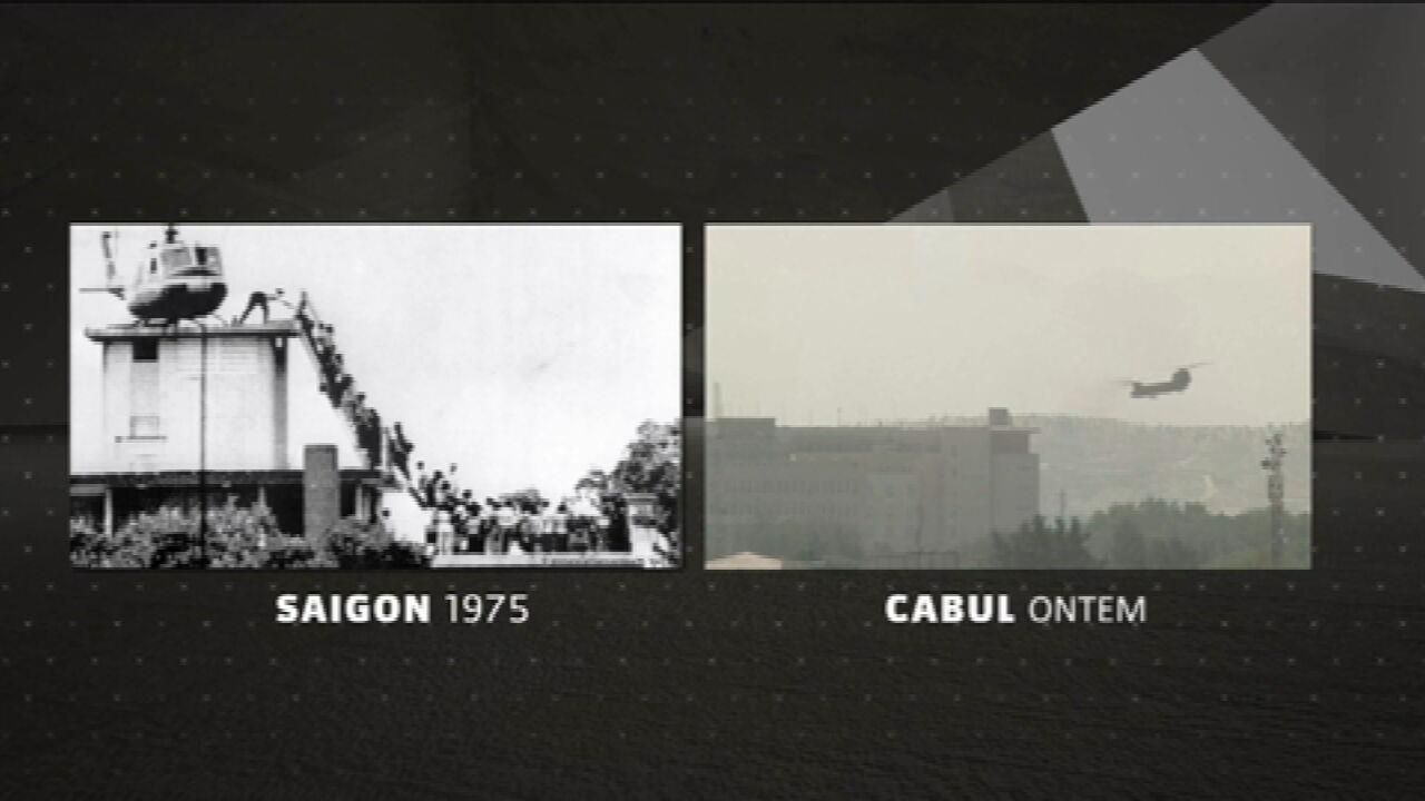 Guarda ora il confronto tra Saigon 1975 e l'immagine di Kabul