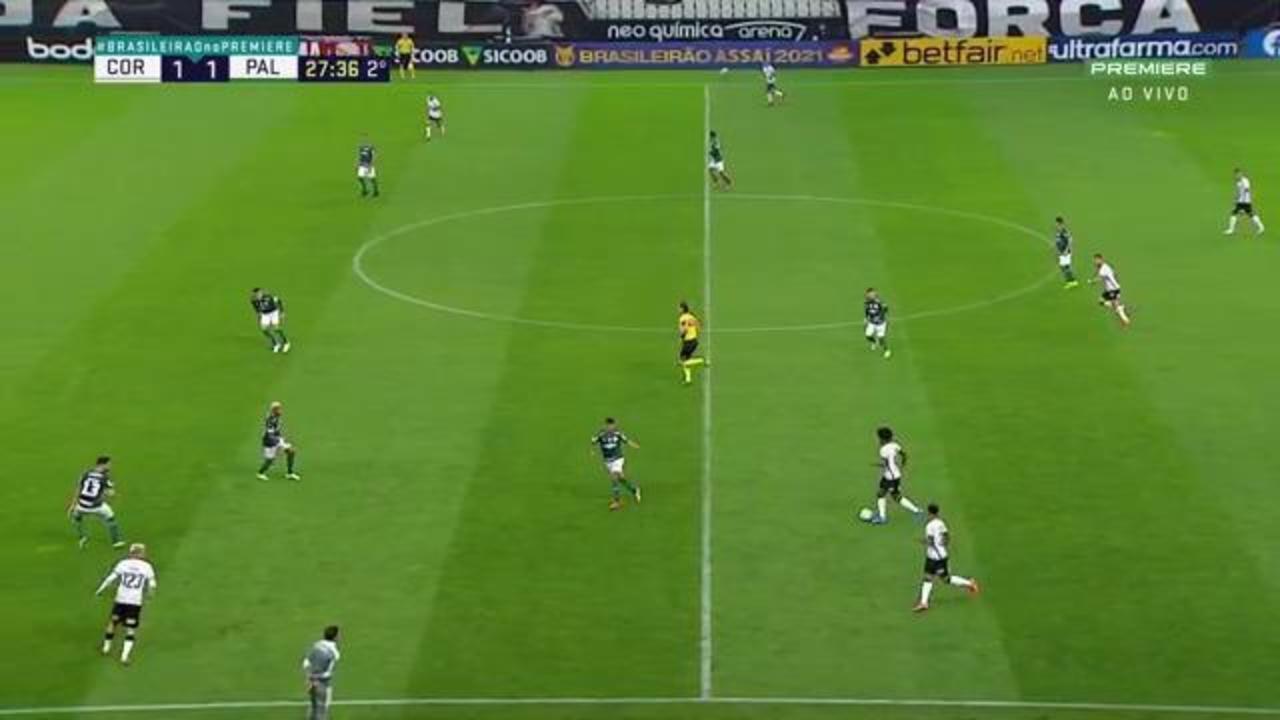 Melhores momentos: Corinthians 2 x 1 Palmeiras, pela 22ª rodada do Brasileirão