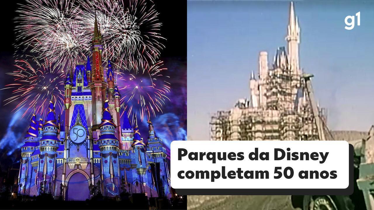 1º de outubro é aniversário dos parques temáticos Disney World na Flórida, nos EUA
